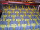 Matt scarf - on the loom