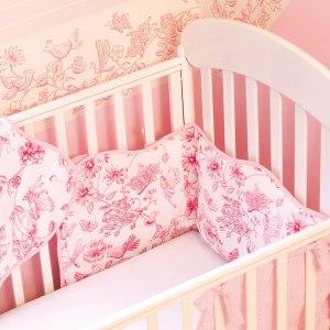 Noolibird Baby cot quilt - fairies